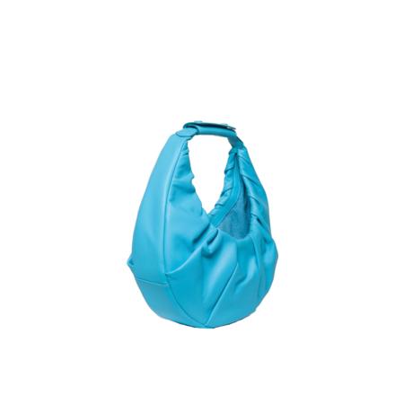 Staud Soft Moon Bag - Bright Blue