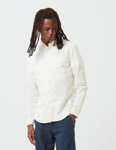 Portuguese Flannel Belavista Shirt - Ivory