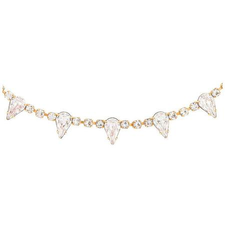 Elizabeth Cole Ailey Necklace - Crystal