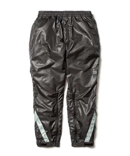 Nakamuraya Portland Flagstuff Nylon Track Pants - Dark Gray/Silver