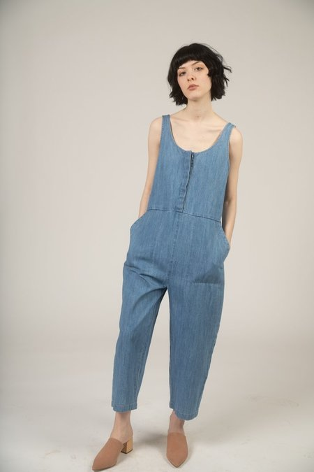 Ilana Kohn Leroy Jumpsuit - Faded Denim