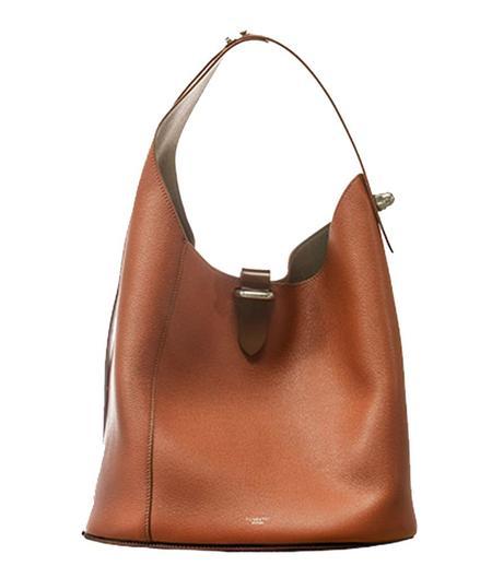Pugnetti Parma Leather Shoulder Bag - Orange