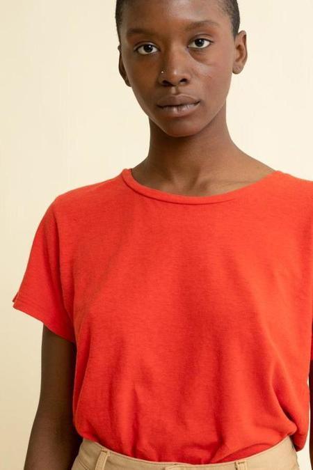 Jungmaven Lorel T-Shirt - Tomato Red