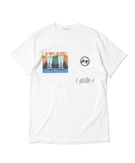 Flagstuff Twin S/S Tee - White