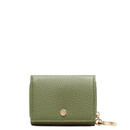 OAD Mini Zip Around Wallet - Olive