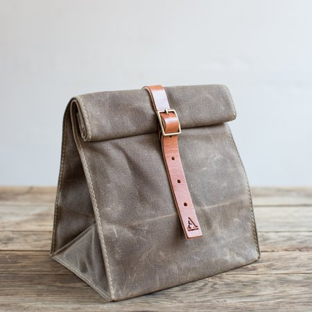 Artifact Wax Canvas Lunch Tote w/ Buckle
