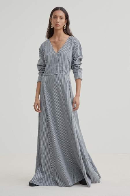 Kowtow Gesture Dress - Gingham