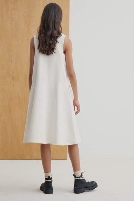 Kowtow Ray Pinafore Dress - Natural