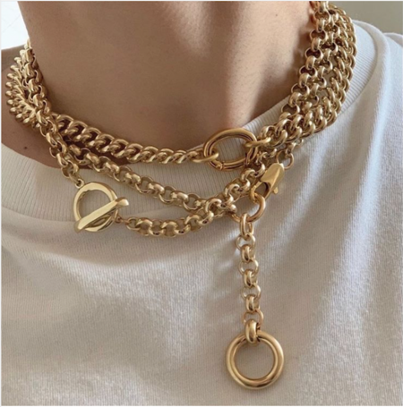 Laura Lombardi isa chain Necklace - 14kt gold