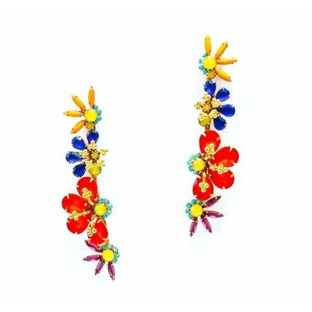 Elizabeth Cole Alva Earrings - Multi