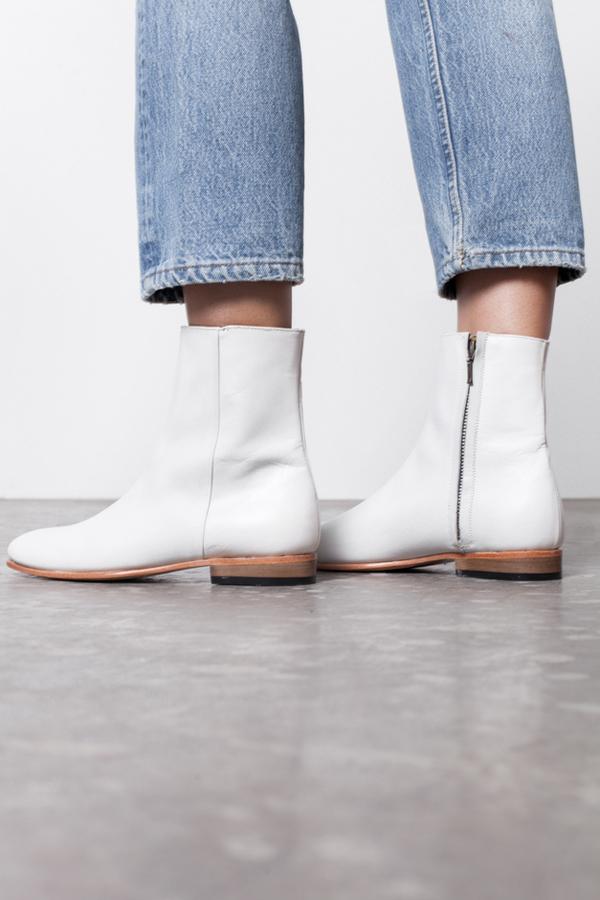 Dieppa Restrepo Rod Boot- white