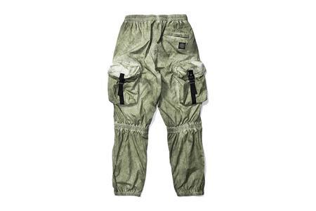 Stone Island Copri Pantaloni Nylon Pants - Green Camo