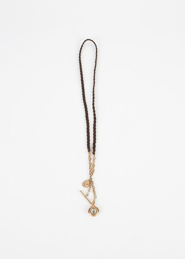 Jewels by Piper Antique Compass Braided Necklace