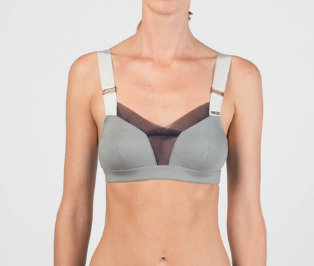VPL STRIPE B BRA: DOVE