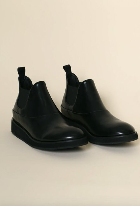 """""""INTENTIONALLY __________."""" Chop Boots - Black"""