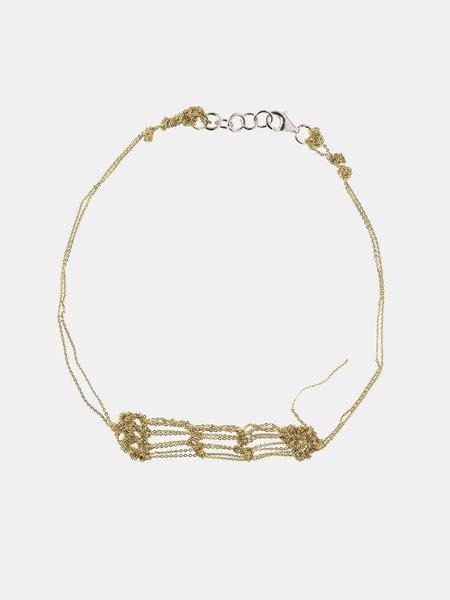 Erica Tanov Arielle De Pinto Bare Frame Necklace -  Gold