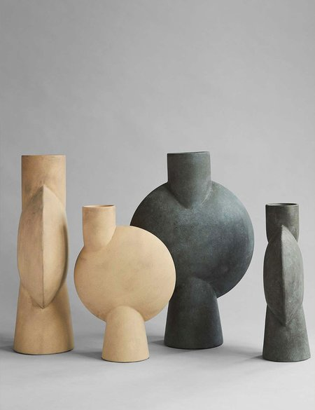 101 Copenhagen Mini Sphere Vase Bubl  - Dark Grey
