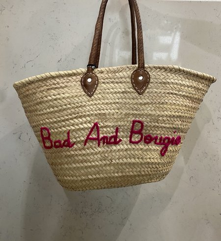 Pool side Bad and Bougie Beach Bag