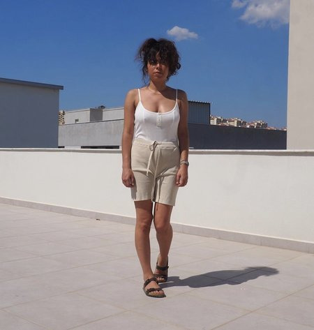 By Signe Knit Shorts - Natural