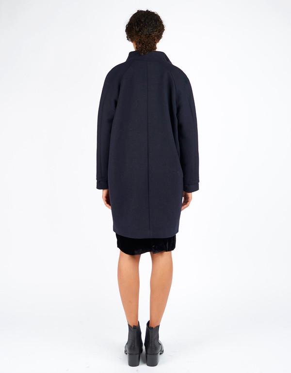 Just Female Blend Coat Dark Blue