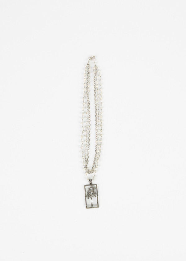 Jewels by Piper Crystal Case Pendant Necklace