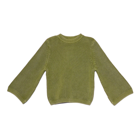 Demy Lee Alisson Crewneck Sweater - Olive Green
