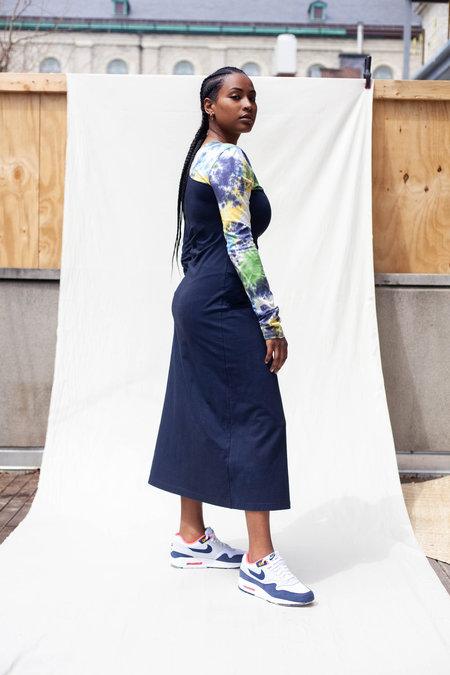 Abacaxi Amita Dress - Navy