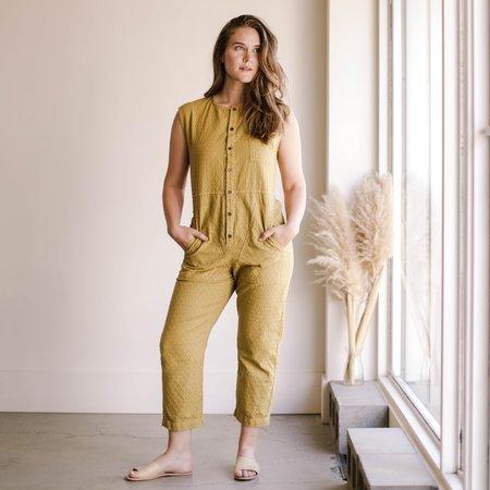 nico nico Harlowe Jumpsuit - Honey