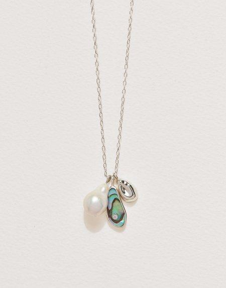 Pamela Love Pilar Charm Cluster Necklace