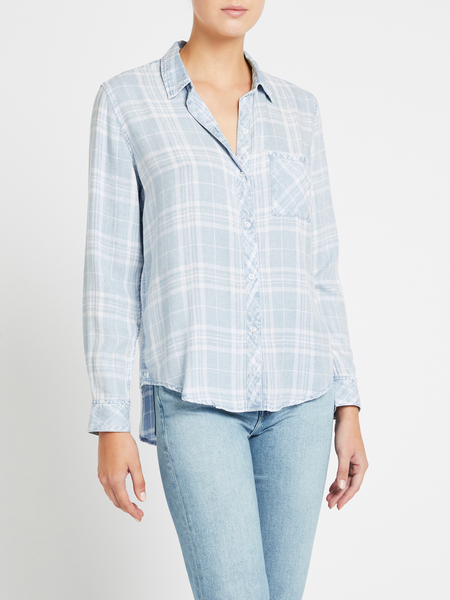 Rails Hunter Shirt - Mediterranean White