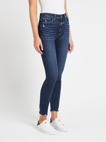 Paige Margot Ankle Jean - Acoustic Distressed
