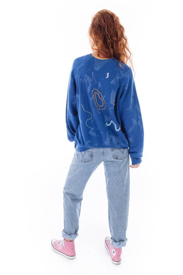 West End Select Shop Embroidered Sweatshirt