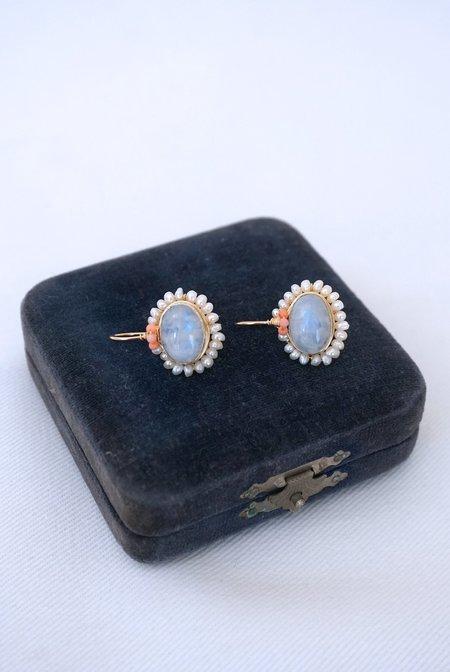 OTTOMANIA Oval Mandala Earrings