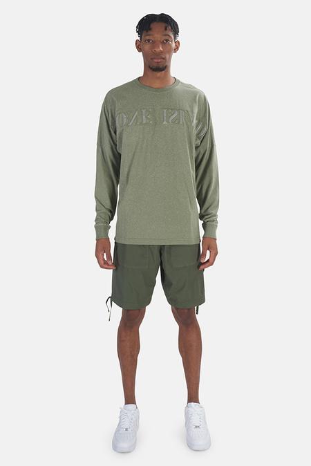 Stone Island Stretch Cotton Shorts - olive Green