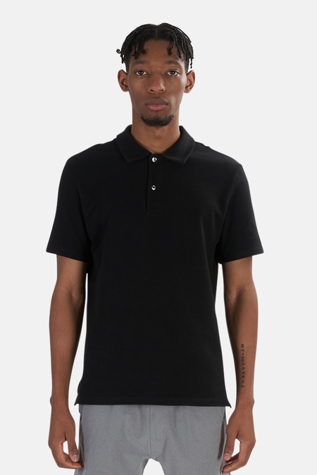 Wheelers.V Riviera Polo Top - Black