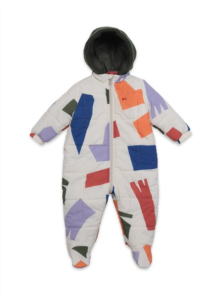 Kids Bobo Choses Shadows All Over Padded Overall - Multi