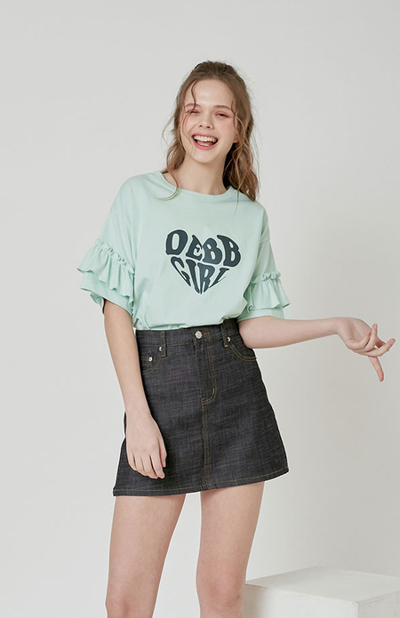 DEBB Frilled Wings T shirt