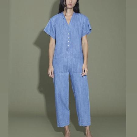 Ilana Kohn Henry Coverall - Faded Denim