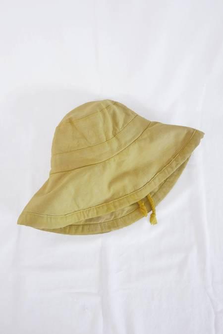 Genna Shrosbree Sun Hat - Natural-Dye Botanic Yellow