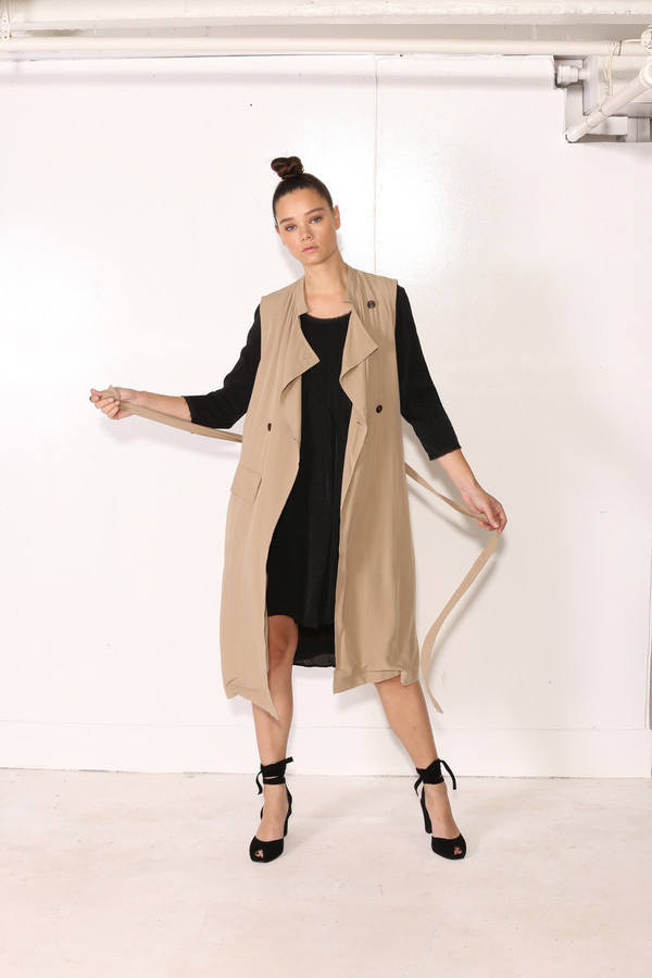 Intentionally Blank YARROW TRENCH Khaki