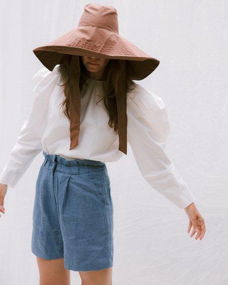J&Loo Mona Short - Chambray