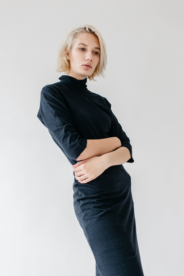 Lauren Winter Turtleneck Dress
