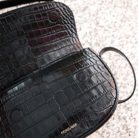 Frenzlauer Swing Bag Croc-Effect - Black