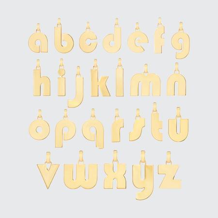 Jenny Bird Mod Monogram Pendant