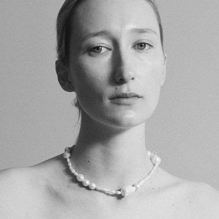 Sophie Buhai Assemblage Pearl Necklace