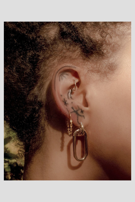 Pamela Love Small Beaumont Earrings - Brass