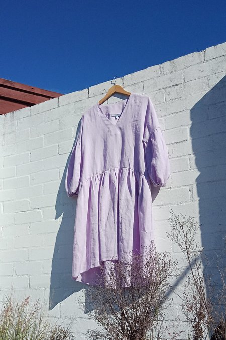 Milk & Thistle Florence Dress - Lilac