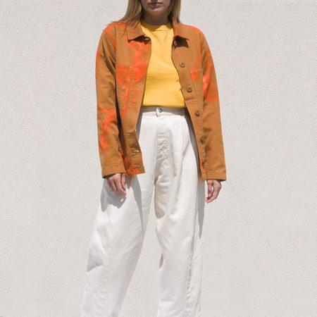 Stussy Printed Chore Coat - Rust