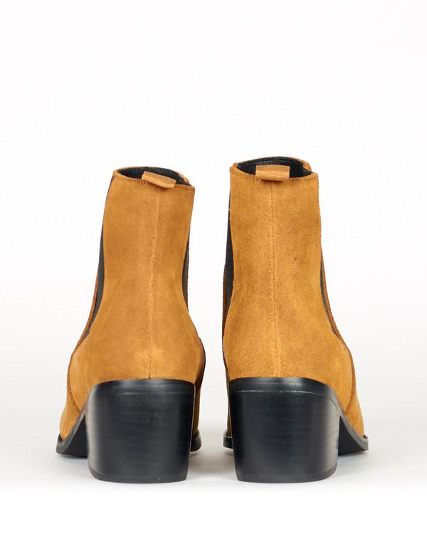 Sol Sana Edgar Boot Cognac Suede
