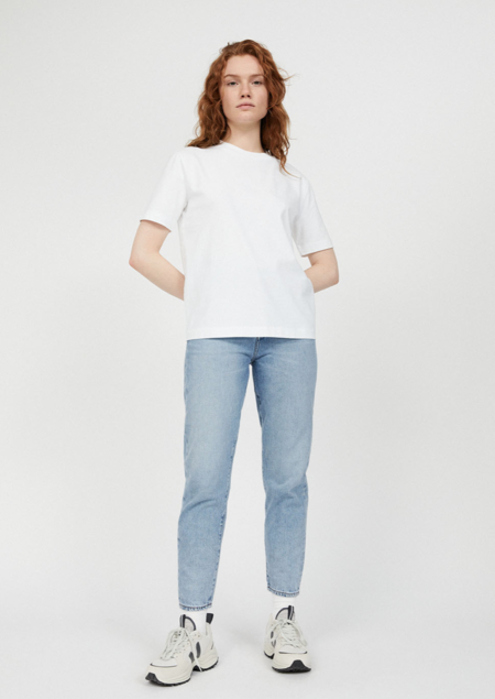 Armedangels Taraa heavyweight cotton shirt - white